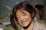Mädchen in Sikkim
