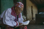 Jedes mal wenn ich Roland besuchte las sein Hausopa aus der Bibel