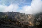 Als erstes Highlight wartete die Caldera des Vulkans Irazu
