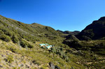 Die Crestones Hütten liegen auf ca. 3400 m höhe. Leider war die Hütte ausgebucht, und wir konnten nicht übernachten.