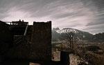Burgruine Eisenberg mit Blick zu den Tannheimer
