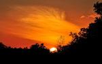 """Sonnenuntergang bei der """"Canón de la Vieja Lodge"""""""