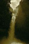 """Auf dem Weg zum Vulkan Poas, machten wir einen Stop bei dem Wasserfall von """" La Paz """"."""