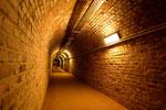 In den Gängen des Bunkers