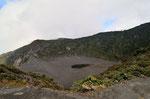 Der Irazu ist 3432 m hoch. Aufgrund eines Erdrutsches konnten wir denn Vulkan nicht erwandern, sondern fuhren mit dem Bus zum Gipfel.