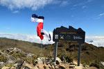 Nach guten 8 Stunden war es geschaft, der Gipfel des Cerro Chirripo, höchster Berg Costa Ricas.