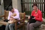 Kuschelstunde mit Ilse und Gabi...