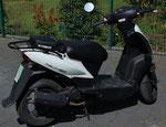 Wird zur Ausbildung als Moped/ Roller eingesetzt, mit max.45 Km/h für die AM Schulung ab 16
