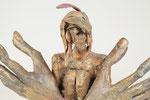 """""""Bitte nicht"""" Edition 9+2EA Bronze 15x24x13cm"""