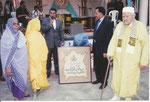 تكريم محمد بنسودة الوزير بكلميم