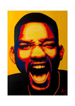 Will Smith, 50 x 70 cm, Acryl auf Leinwand