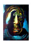Pablo Picasso, 50 x 70 cm,  Acryl auf Leinwand