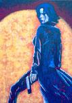 Selene - Underworld (Acryl auf Leinwand, 50 x 70 cm)