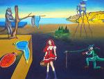 Auf den Spuren von... Salvador Dali - Rotkäppchen