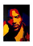 Lenny Kravitz, 50 x 70 cm, Acryl auf Leinwand