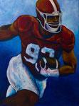 American Football (Acryl auf Leinwand, 60 x 80 cm)
