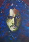 Jon Snow (Game of Thrones), 30 x 40,5 cm, Acryl auf Papier