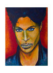 The artist formally known as Prince, 50 x 70 cm, Acryl auf Leinwand