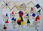 Auf den Spuren von... Juan Miro - Schneewitchen und die 7 Zwerge