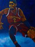 Basketball (Acryl auf Leinwand, 60 x 80 cm)