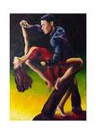Tanz (Acryl auf Leinwand, 50 x 70 cm)