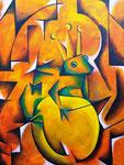 Auf den Spuren von... Georges Braque - Der Froschkönig