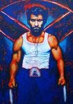 Wolverine - X-Men (Acryl auf Leinwand, 50 x 70 cm)