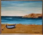 St.Pere Pescador  Öl  ca. 25 x35 cm