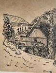 Mühle in Hessen 5  Feder