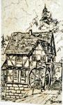 Mühle in Hessen 2  Feder