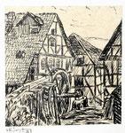 Mühle in Hessen 1  Feder