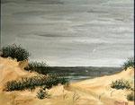 Erinnerung an Renesse  Öl  ca.20x30 cm