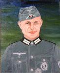 Großvater von Markus Ehmer  Acryl  40x50 cm verkauft