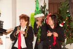 2014 Weihnachtsshow mit Maria Keckeisen, Elke Gander, Denise Partsch