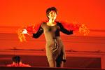 """2010 Kleine Riesen Gletscherspalten nach Fellinis """"Stadt der Frauen"""" mit Janet Scherngell"""