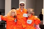 2015 Eröffnung Spannrahmen: Elke Gander, Ralf Stoffers, Verena Steurer