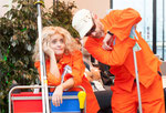 2015 Eröffnung Spannrahmen: Elke Gander und Ralf Stoffers