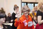 2015 Eröffnung Spannrahmen: Verena Steurer