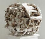 "Andreas Jonak, 2013 ""Untitled"", Plaster, Polyester, Steel, 65 cm x 75 cm x 75 cm"