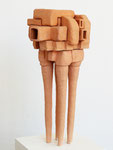 """Andreas Jonak, 2013 """"Block Puzzle"""", Ceramic, 95 cm"""