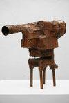"""Andreas Jonak, 2021 """"Ofen"""", Steel, 45 cm"""