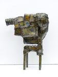 """Andreas Jonak, 2011 """"Ofen"""", Steel, 45 cm"""