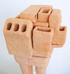 "Andreas Jonak, 2013 ""Block Puzzle"" (Detail), Ceramic, 95 cm"