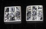Manschettenknöpfe mit Picassojaspis-Steine