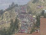 Demonstrationen blockieren immer wieder die Strassen