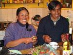 Monica & Gualberto, die guten Seelen von San Mateo