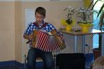 Lukas sorgte für die musikalische Untermalung