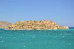 """Blick auf die Insel """"Spinalonga"""" bei Elounda"""