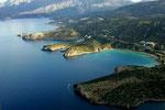 Vogelperspektive - der Voulismabay und der Istron Bay