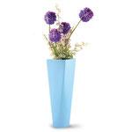 """Stream Vase - Item#090702   W 11"""" x D 7 1/2"""" x H 23"""""""